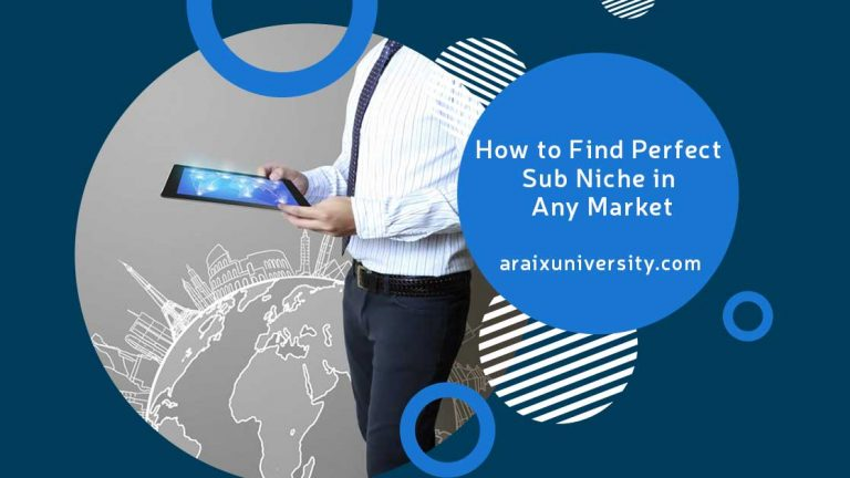How to Find Perfect Sub Niche in Any Market