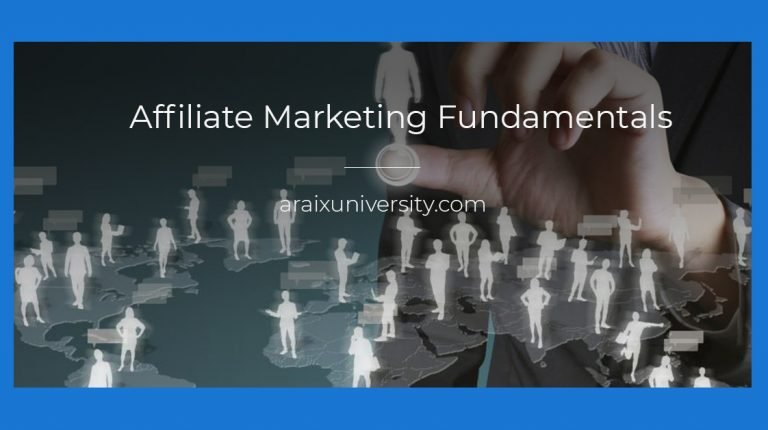 Affiliate Marketing Fundamentals 3