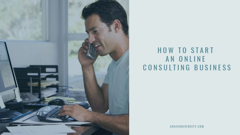 How to Start an Online Consulting Business