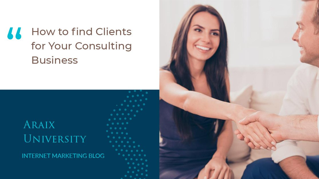 How to find Clients for Your Consulting Business