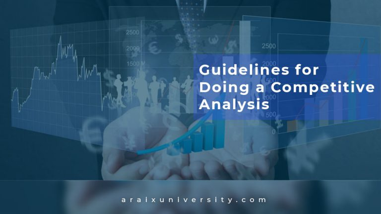 Guidelines for Doing a Competitive Analysis