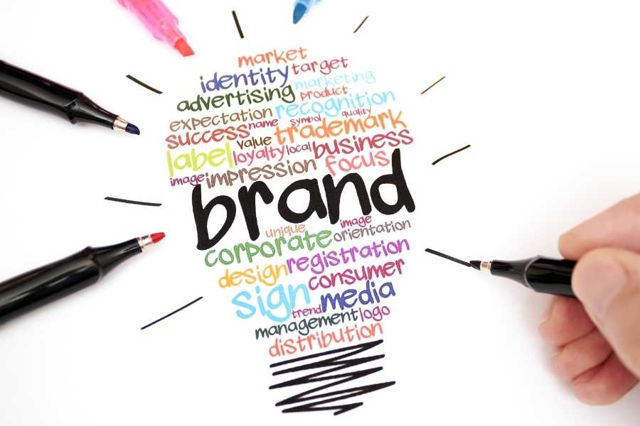 Many small business owners don't think about branding. They think about the management of their daily operations, and they don't think about the long term.