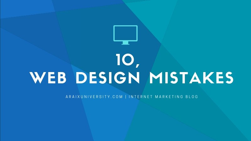 Most Common Web Design Mistakes Small Businesses Make