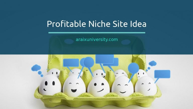 How to Find a Profitable Niche Site Idea 5