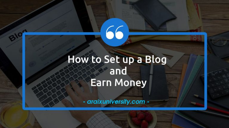 How to Set up a Blog and Earn Money