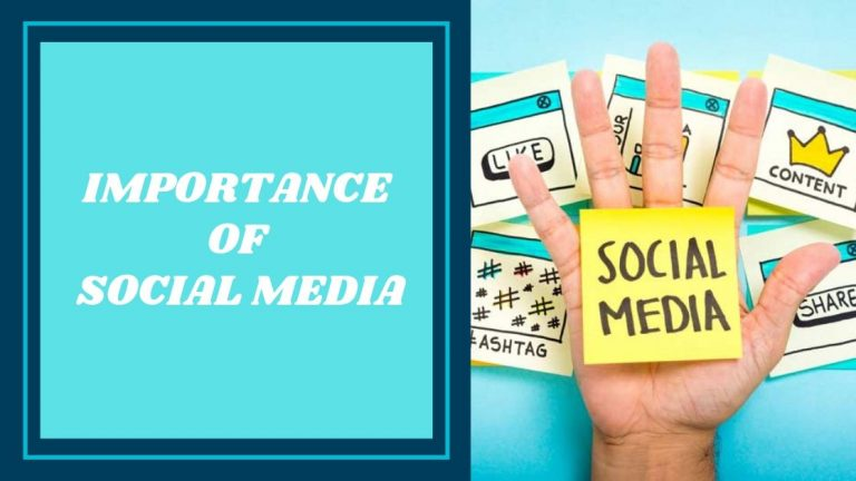 Why Social Media Marketing Is Important For Your Business