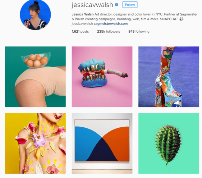 How to create a visual identity for your brand with Example 16