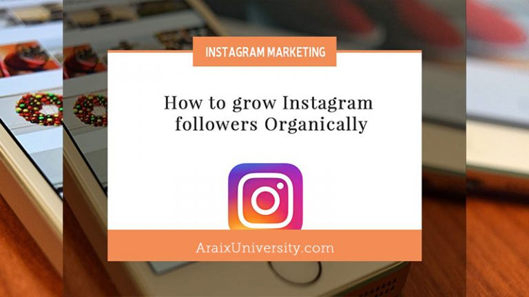 How to grow Instagram followers Organically