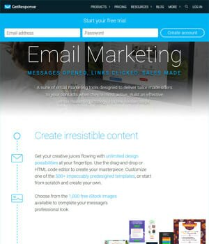 GetResponse - Email Marketing Automation Tool 1