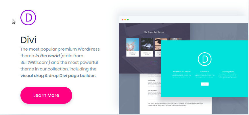 popular premium WordPress theme in the world