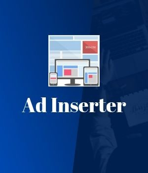 Ad Inserter – Post Banner Ad Anywhere on Your Website
