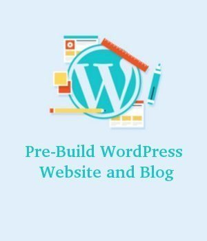 Pre-Build WordPress Website