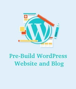 Pre-Build WordPress Website and Blog FREE Download