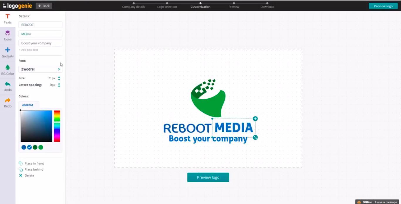 Logogenie - Professional Logo Design Tool