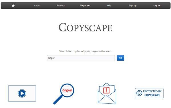 Copyscape Plagiarism Checker Duplicate Content Detection Software