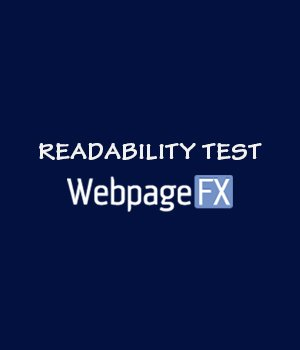 Readable Free Readability Test Tool