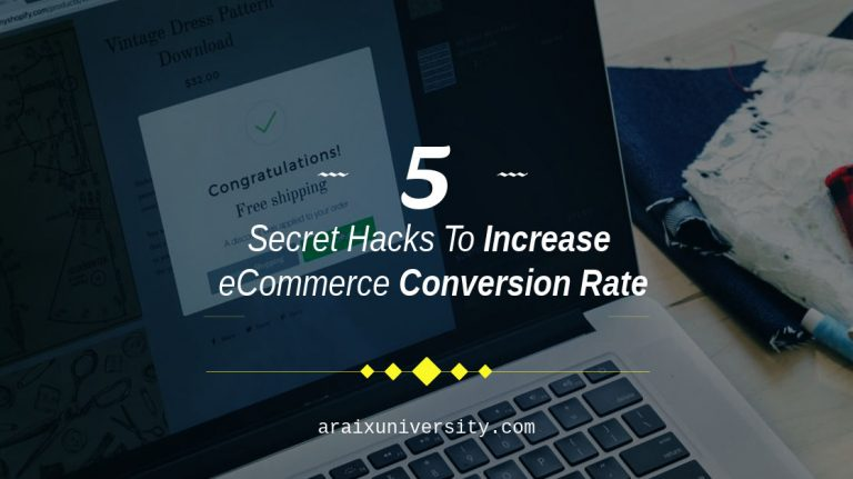 5 Secret Hacks To Increase eCommerce Conversion Rate 6