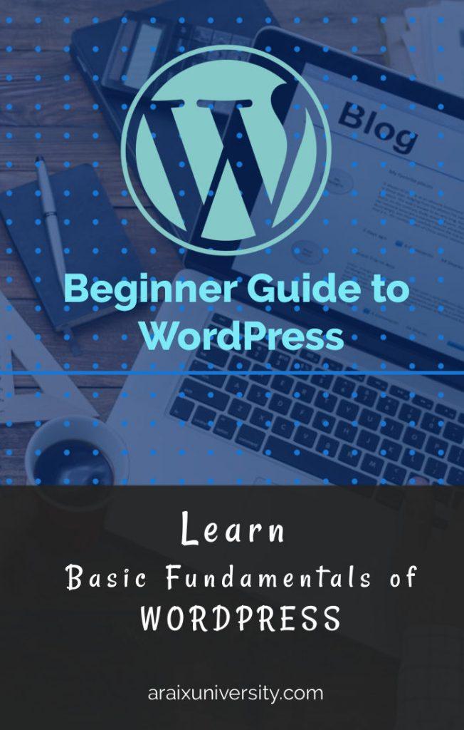 WordPress Guide for Beginner