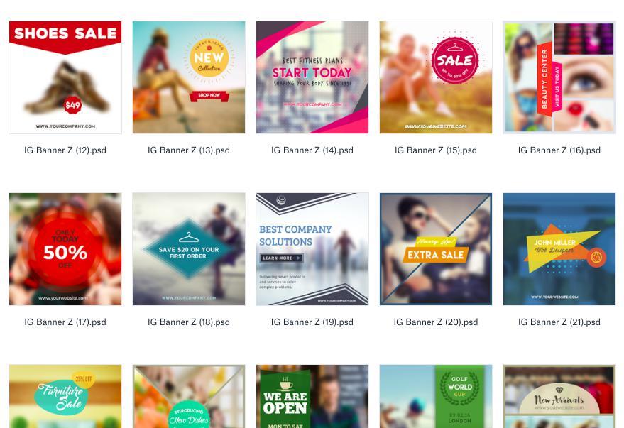 Instagram Marketing Resources Instagram Photoshop