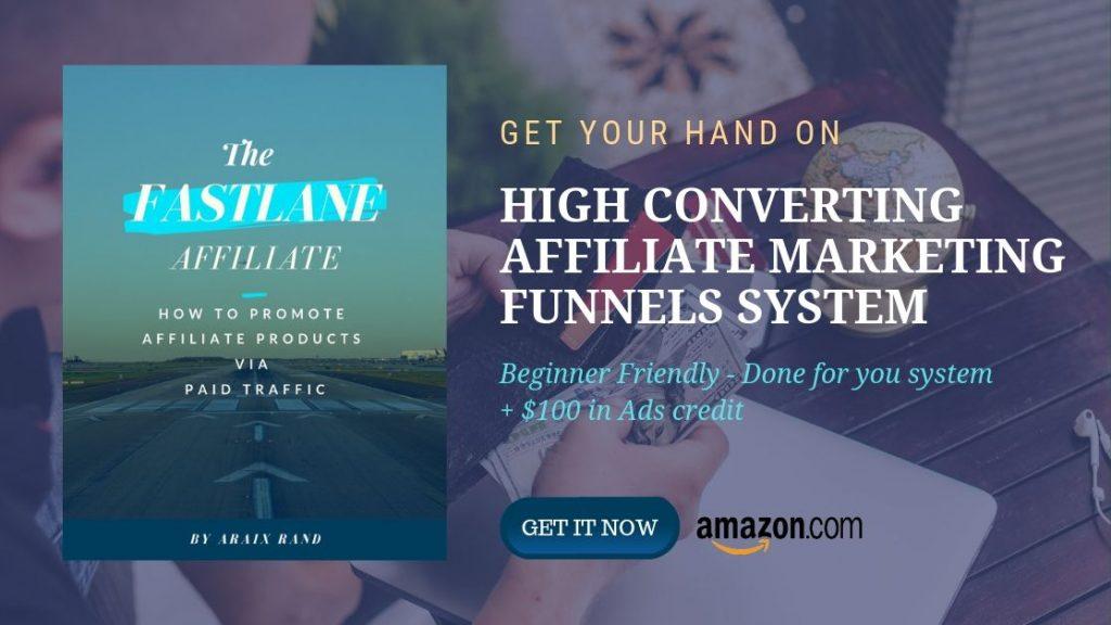 Affiliate marketing system to make money online