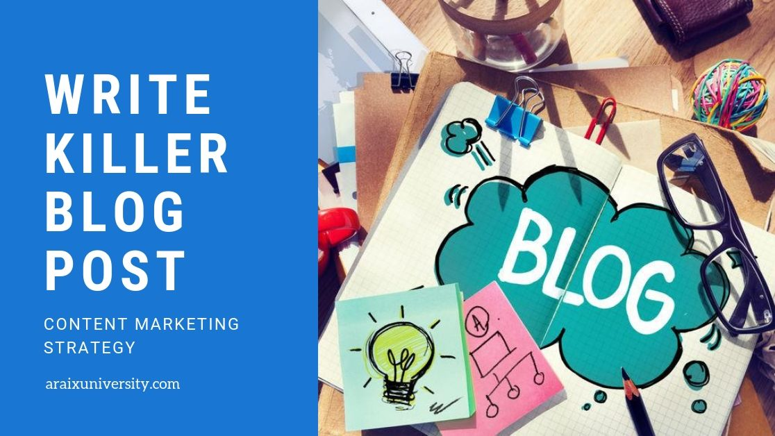 How to Create Killer Blog Content