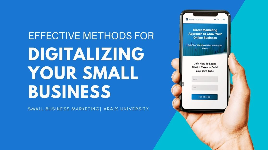 Digitalizing Your Small Business