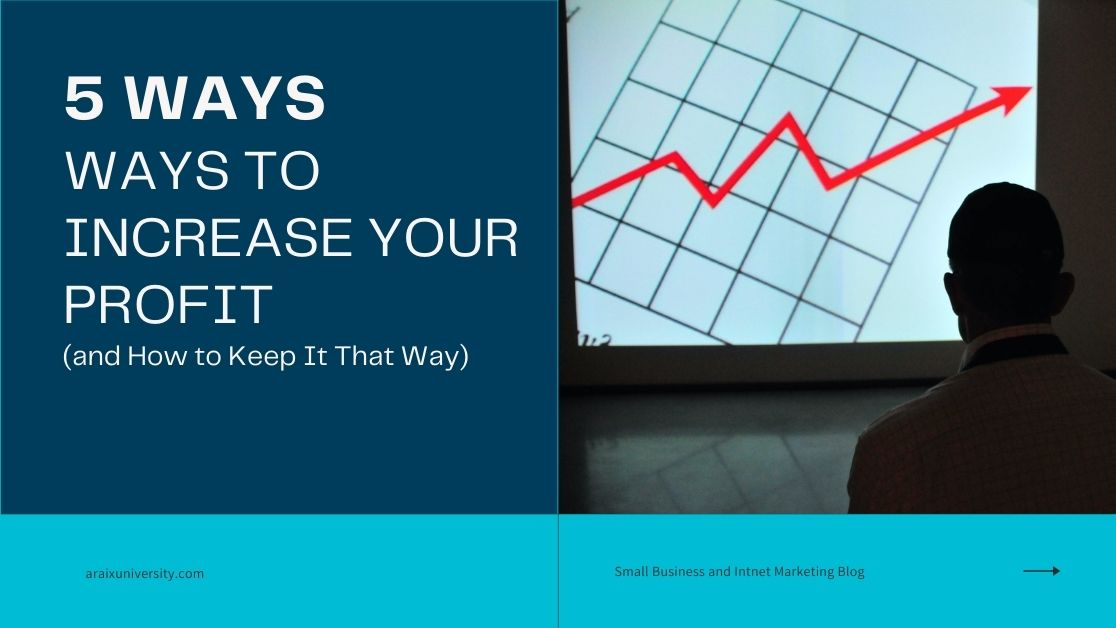Ways to Increase Your Profit