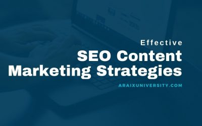 Why SEO Content Marketing Strategies is Important