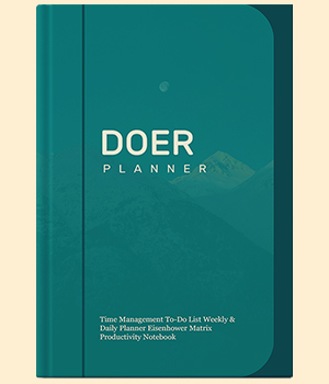 Doer Planner is one of the best Eisenhower Matrix Time Management Planners available on Amazon.