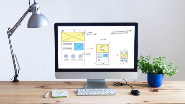 Web design is the process of designing websites
